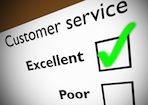Stock Image of Customer Service Survey