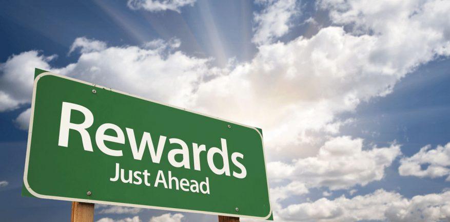 Rewards ahead