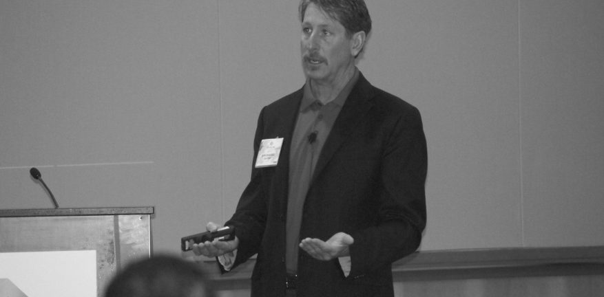 CompTIA Instructor Dan Shapero also CEO of ClikCloud offers mobility business guidance to Tech Data Channel Link attendees
