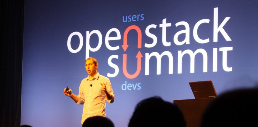 OpenStack leader Jonathan Bryce shifted the conversation from vendors to actual users like Best Buy Bloomberg and Comcast