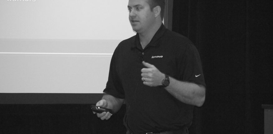 Tech Data39s Greg Rich describes Lenovo tablet ultrabook and Chromebook opportunities to channel partners at Channel Link
