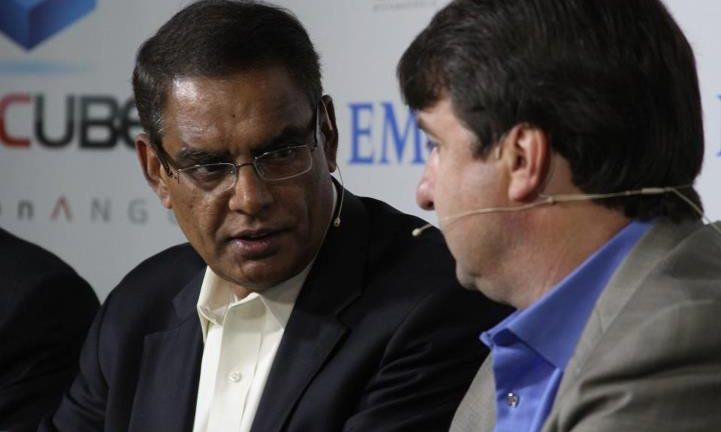 EMC Solutions Group Senior Vice President Prasad Rampalli said EMC and SAP have transformed IT services together for the past two years