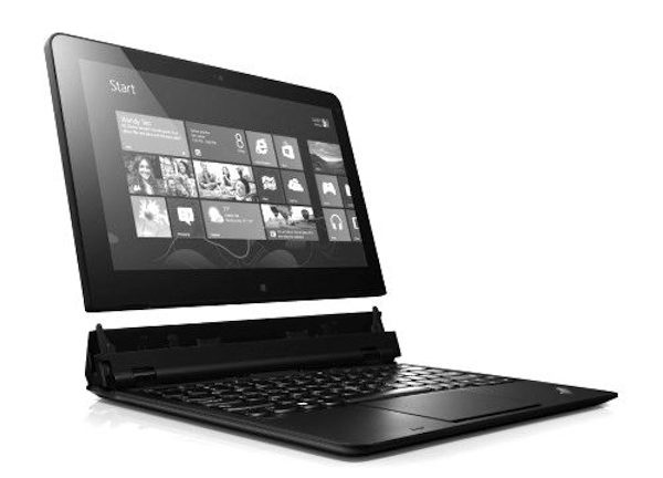 Lenovo Helix ultrabook with Windows 8 touch screen