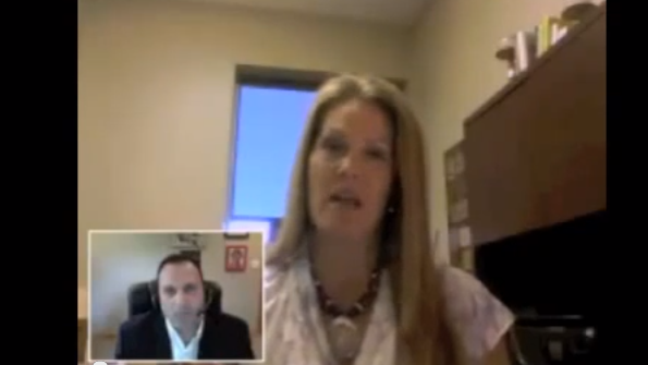 SYNNEX VP US Marketing Mary Ellen Grom in a FastChat video