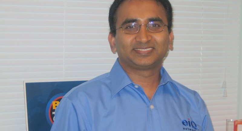 EiQ Networks President and CEO Vijay Basani said MSPs without a team of security analysts in a security operations center SOC can leverage EiQ SOCVue enabling MSPs to offer remote management services for advanced security services such as SEIM
