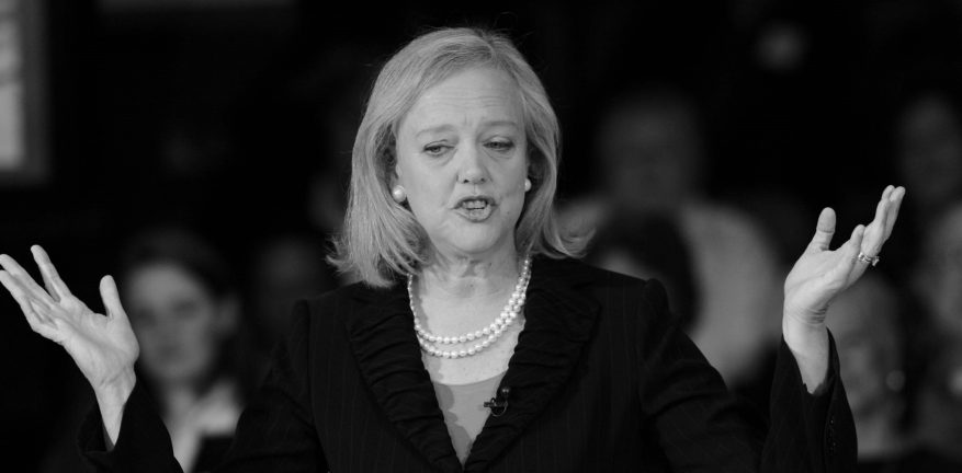 HP CEO Meg Whitman insists the HewlettPackard turnaround plan is taking hold But revenues are still falling