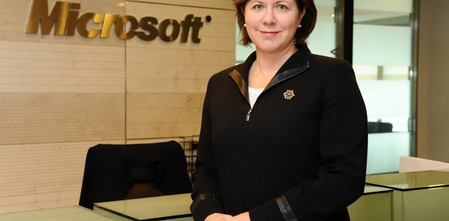 Microsoft Trustworthy Computing General Manager Adrienne Hall said cloud often creates a gap in perception and reality
