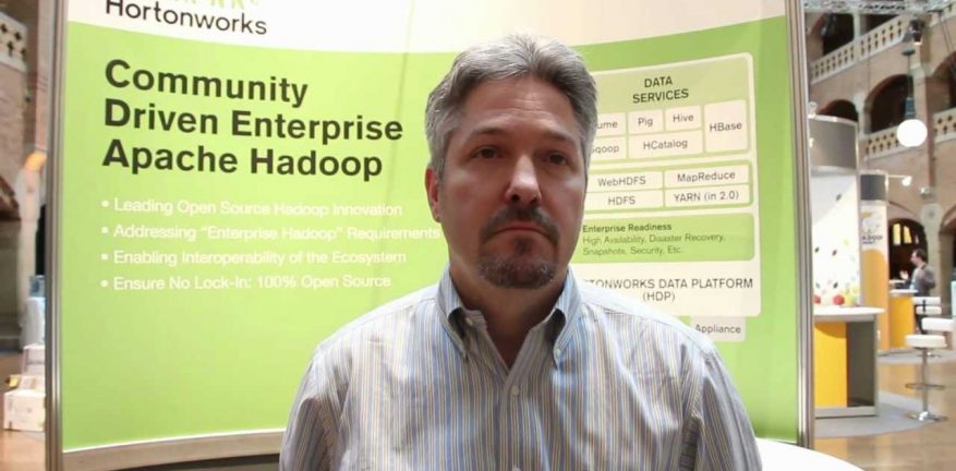 Hortonworks Corporate Strategy Vice President Shaun Connolly said Hadoop adoption is growing as organizations look to leverage new data types and build applications
