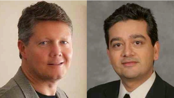 IBM GMs Andy Monshaw left and Deepak Advani right will likely offer PureFlex and SmartCloud updates during an MSP Summit