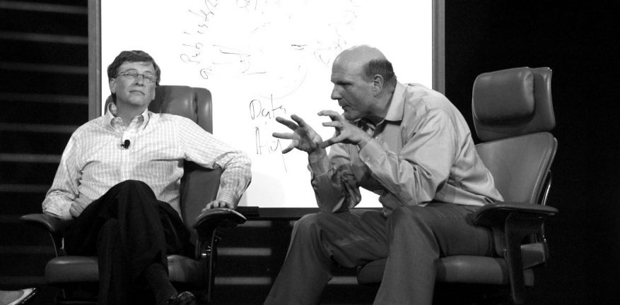 Together they led the 1990s PC software revolution Will Gates and Ballmer partner again