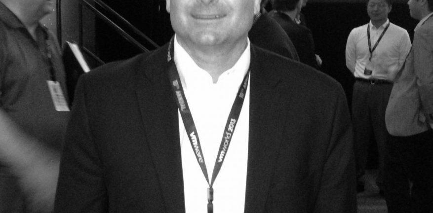 At VMworld 2013 Andy Banks joins VMware as VP of global distribution