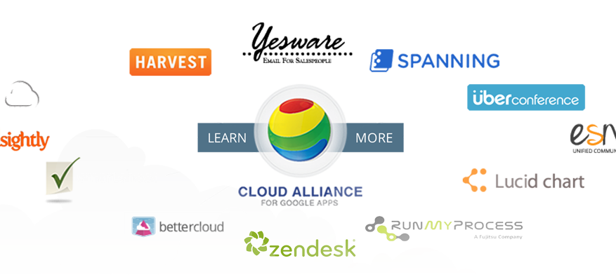 Zendesk Esna and UberConference join founding members BetterCloud Insightly Fujitsu RunMyProcess Smartsheet and Spanning as well as Harvest Lucidchart ShuttleCloud and Yesware