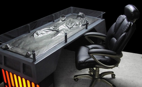 Carbonite CEO David Friend would likely feel right at home at this desk