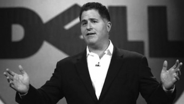 In a company wide email Michael Dell thanked employees for their focus amid the current buyout battle