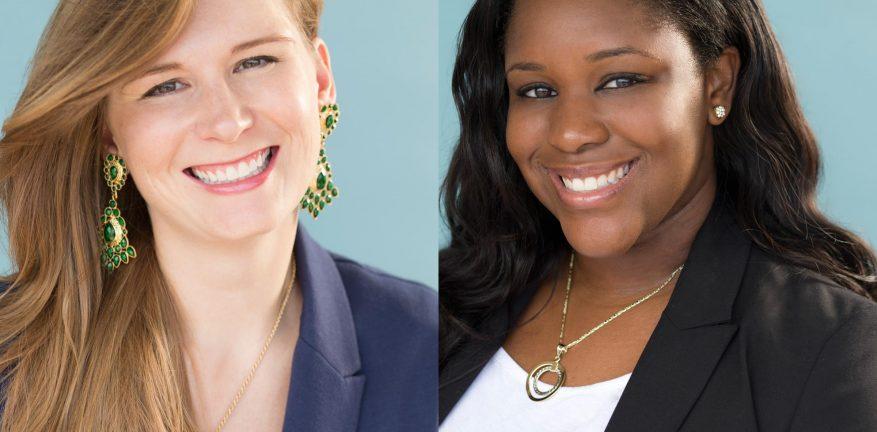 Enterhost hires Director of Public Relations Lauren Kwedar Cockerell left and Marketing Coordinator Victoria Igbojionu right