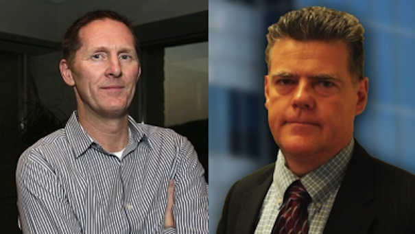 SolarWinds CEO Kevin Thompson pictured left praised Nable management during a Q2 2013 earnings call Surely some of that credit goes to Nable GM JP Jauvin pictured right
