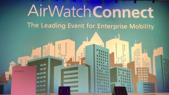 AirWatch CEO John Marshall says AirWatch has 8000 customers 250 partners globally serving more than 150 countries