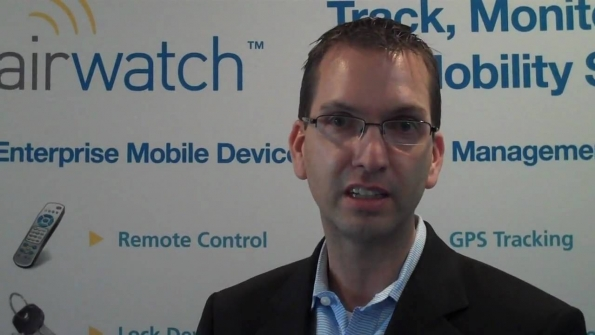 AirWatch CEO John Marshall says mobility framework doesnt need full device management to secure corporate applications and data