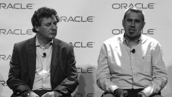 Oracle Senior VP Chris Baker and VP Peter Utzschneider discuss Java and the Internet of Things IoT at OpenWorld 2013