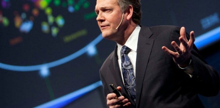 IBM Software Solutions Group Senior Vice President Michael Rhodin says IBM Watson will quotfuel a new ecosystem that accelerates innovation creativity and entrepreneurial spiritquot