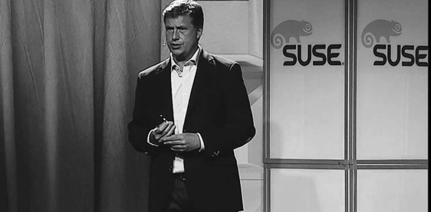 SUSE President and General Manager Nils Brauckmann says there are more than 19000 active customers that leverage SUSE technology up from last year39s 15000 customers