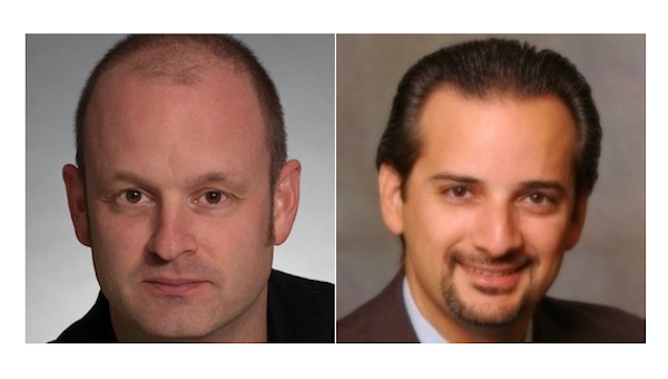 Simon West left and Jose Segrera right are helping to guide independenceIT39s cloud strategy