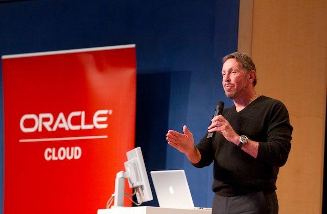 Oracle CEO Larry Ellison says Q2 2014 cloud bookings rose 35 percent