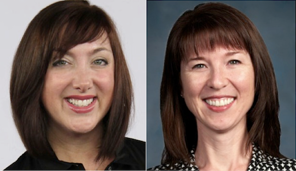 Jeannine Edwards left will focus on ISVs while Amy Hodge right will focus on IT service provider partners