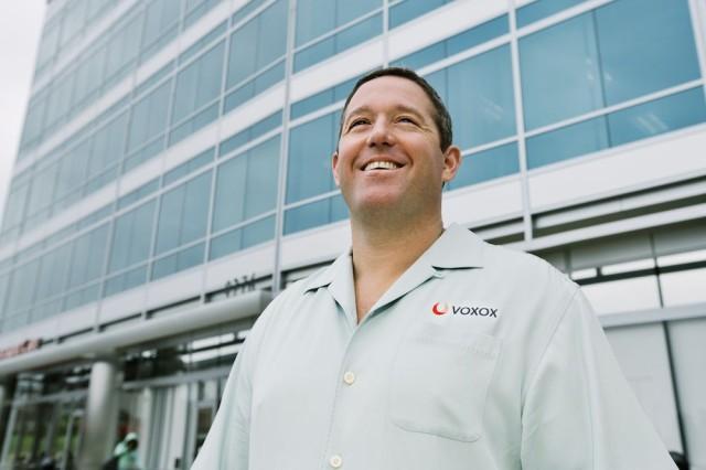 Bryan Hertz CEO of Voxox