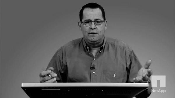 Mark Welke senior director of Product Marketing at NetApp