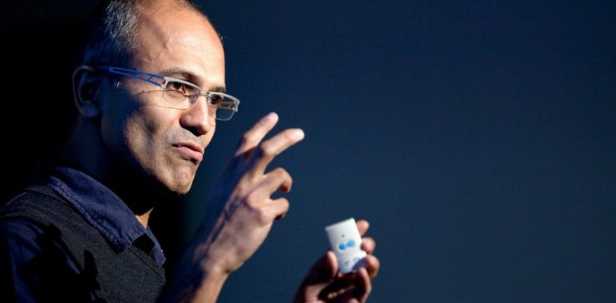 Microsoft CEO Satya Nadella was appointed to his new role in the beginning of February