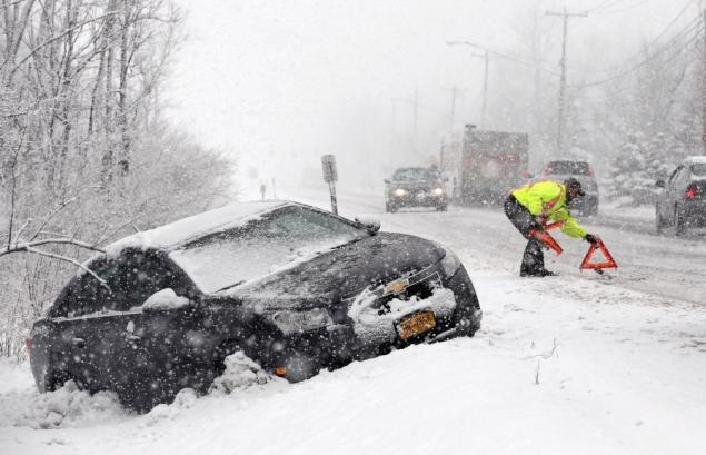 The Northeast has been hammered with snow opening the opportunity for nature to cause disasters