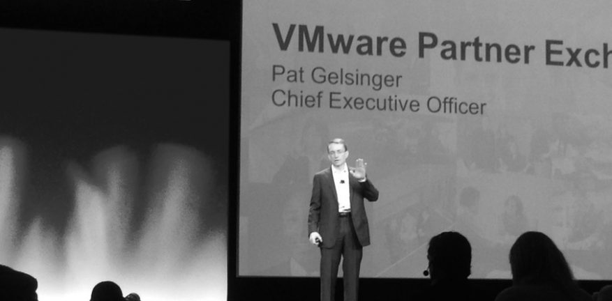 VMware CEO Pat Gelsinger says VMware partners heavily depend on partners and partners depend on VMware