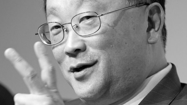 BlackBerry chief John Chen has the White House39s ear