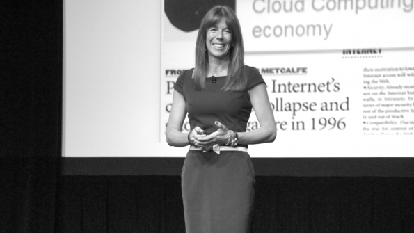 Renee Bergeron vice president of managed services and cloud computing at Ingram Micro North America