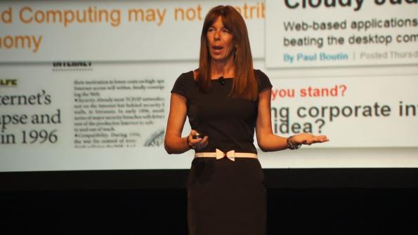 Renee Bergeron vice president of worldwide cloud for Ingram Micro