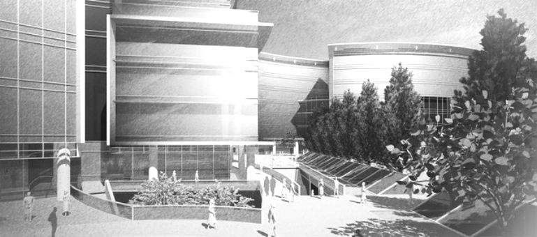 Artist39s rendering of new 700 million business complex in San Jose CA said to be targeted by one IT industry tenant