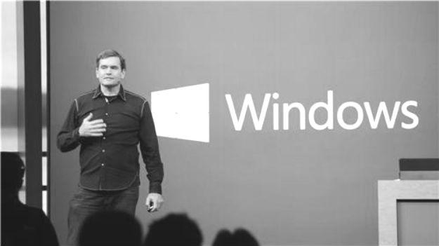 David Treadwell Microsoft Operating System Group CVP touts universal Windows apps