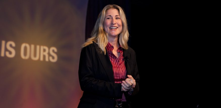 Gartner Research VP Distinguished Analyst Tiffani Bova spoke with the audience on selling cloud services during Wednesday39s keynote session