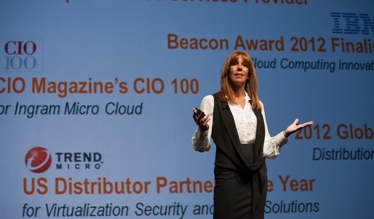 Ingram Micro Cloud Computing VP Renee Bergeron says the company is dedicated to assisting resellers with getting their business ready for cloud