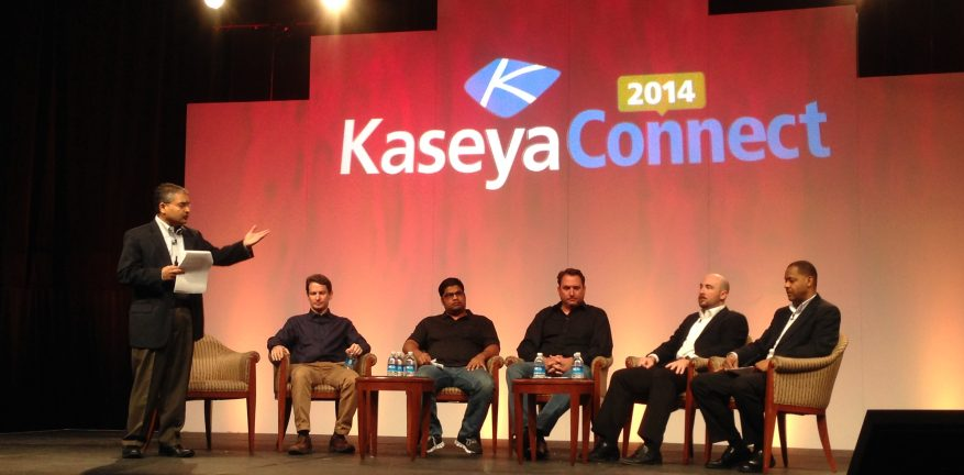 Kaseya focused on security and safe computing and its IT management cloud architecture during the last day of Kaseya Connect 2014