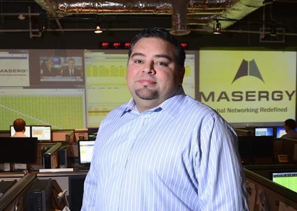 Chris MacFarland CEO of Masergy