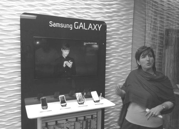 Ketrina Dunagan Samsung39s retail development chief has left the company