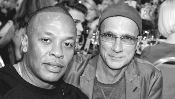 Beats founders and new Apple executives Dr Dre and Jimmy Iovine Word