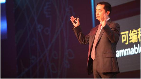 Liu Shaowei president of the Huawei Enterprise Networking product line