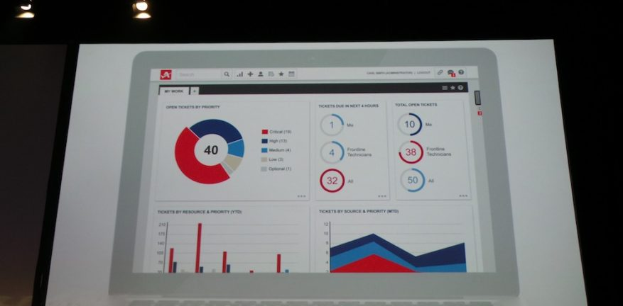 Autotask provided a sneak peek of their updated user interface during Monday39s keynote address