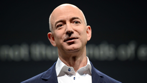 Jeff Bezos founder and CEO of Amazon