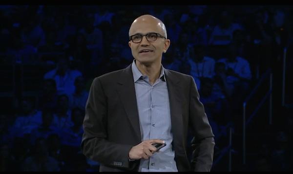 Microsoft MSFT CEO Satya Nadella