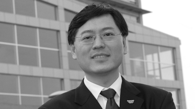 Lenovo chief executive Yang Yuanquing