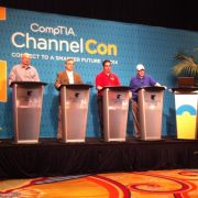Several IT security experts discussed antivirus software bringyourowndevice BYOD and much more during a panel discussion at CompTIA39s ChannelCon 2014 in Phoenix